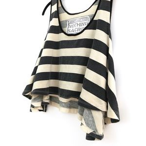 Urban Outfitters Nothing Sacred Flowy Crop Tank M